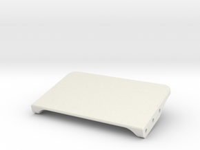 Adjustable Rear Electronics Mount 78 in White Natural Versatile Plastic