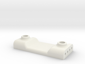 P3 70mm Rear Hoop Brace in White Natural Versatile Plastic