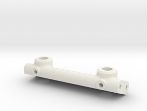 Pinch3 Front Body Mount 78 to 70mm in White Natural Versatile Plastic