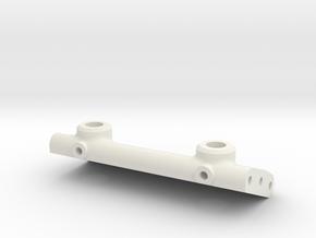 Front Body Mount Brace 78 in White Natural Versatile Plastic