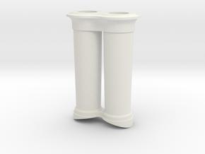 steampunk chimney 1  in White Natural Versatile Plastic