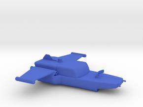Captain Action Silver Streak InFlight 1 piece in Blue Processed Versatile Plastic