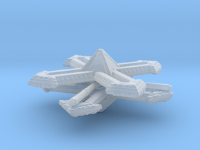 Blackstone Fortress fleet scale in Smooth Fine Detail Plastic