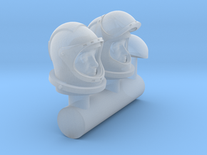 SPACE 1999 1/72 ASTRONAUT HEAD in Smooth Fine Detail Plastic
