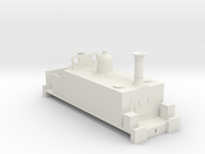 freelance victorian side tank in White Natural Versatile Plastic