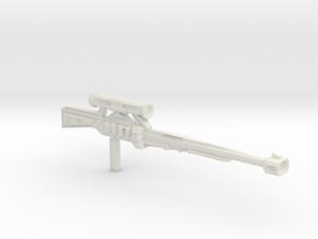 Power sniper in White Natural Versatile Plastic