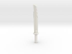 Power knife in White Natural Versatile Plastic