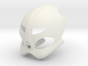 Bionicle: Kanohi Ao: Great Mask of Satelites in White Natural Versatile Plastic