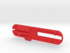 74mm Victorinox pen scale in Red Processed Versatile Plastic