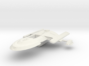 Hornet Class Patrol craft with Shuttle beside it in White Natural Versatile Plastic
