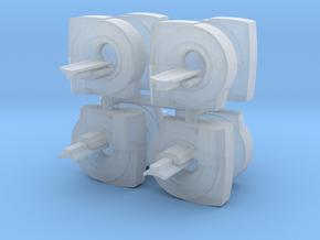 MRI Scan Machine (x8) 1/285 in Smooth Fine Detail Plastic
