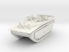 LVT-4 (MG flat shield) 1/56 in White Natural Versatile Plastic