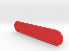 91mm Victorinox thin scale 1 in Red Processed Versatile Plastic