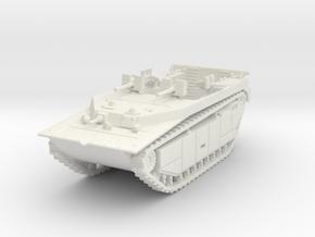 LVT-4 (MG flat shield) 1/120 in White Natural Versatile Plastic