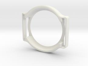 Freestyle Libre Sensor Holder / Guardian / Armband in White Natural Versatile Plastic