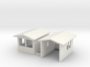 1-50 Gatehouse Bldg in White Natural Versatile Plastic