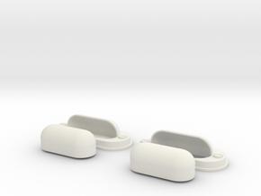 1.6 Feux hella EC 145 in White Natural Versatile Plastic