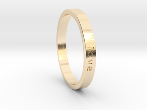 Love in 14K Yellow Gold: 7 / 54