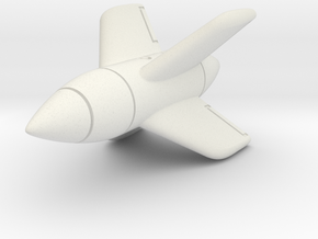 (1:72) Enzian E-5 in White Natural Versatile Plastic