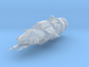 High detail Rocinante Martian gunship Expanse in Smooth Fine Detail Plastic