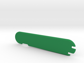 91mm Victorinox pick 'n tweez scale 1 in Green Processed Versatile Plastic