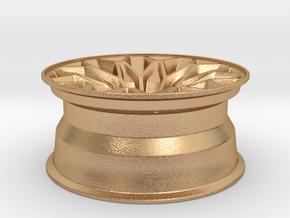 1:10 Display D52 Snowflake Rim in Natural Bronze
