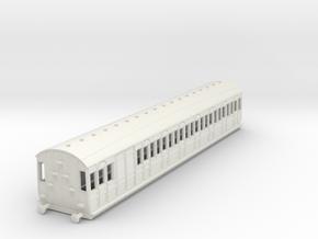o-76-met-dreadnought-brake-3rd-coach in White Natural Versatile Plastic