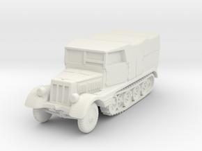Sdkfz 11 (covered) 1/87 in White Natural Versatile Plastic