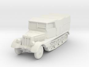 Sdkfz 11 (covered) 1/72 in White Natural Versatile Plastic