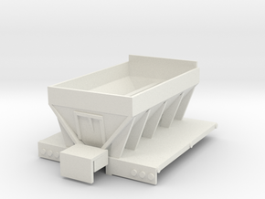 1/64 new leader truck spreader part 1 in White Natural Versatile Plastic: 1:64 - S