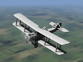 Salmson 2 (various scales) in Gray PA12: 1:144