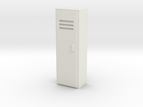 Locker 1/56 in White Natural Versatile Plastic