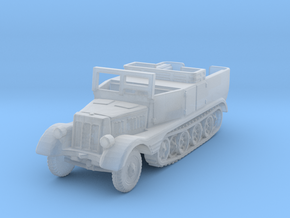 Sdkfz 11 (open) (window up) 1/285 in Smooth Fine Detail Plastic