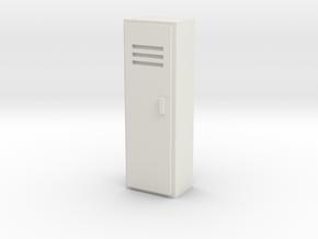 Locker 1/12 in White Natural Versatile Plastic