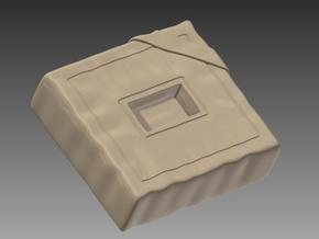 Mosquito Parachute Seat 1/24 in Smooth Fine Detail Plastic
