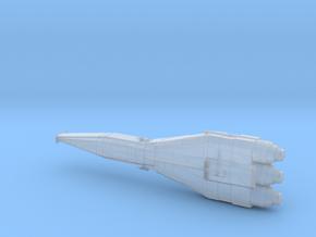 Battlecruiser in Smoothest Fine Detail Plastic