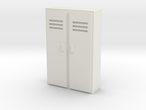 Double Locker 1/35 in White Natural Versatile Plastic