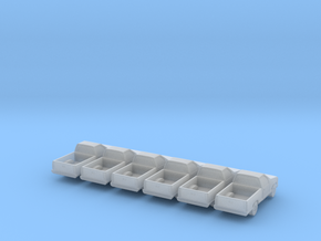 Pickup -set of 6 - Zscale in Smooth Fine Detail Plastic