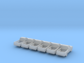 Pickup -set of 6 - Nscale in Smooth Fine Detail Plastic