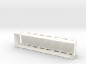 Swedish wagon for railcar UCo1 H0-scale in White Processed Versatile Plastic