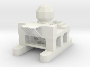 Sea Based X-Band Radar in White Natural Versatile Plastic