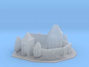 Fortified church in Smooth Fine Detail Plastic