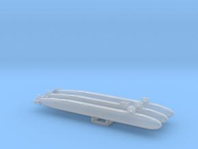 USN MOD SSBN SET FH - 2400 in Smooth Fine Detail Plastic