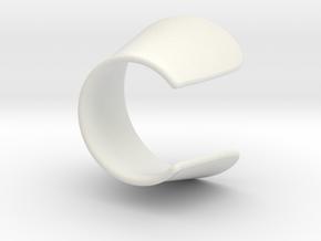M2E Zoom Sonnenblende 23-37mm in White Natural Versatile Plastic