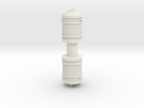 Garbage Can (x2) 1/35 in White Natural Versatile Plastic