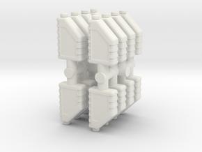 Motor Oil Bottle (x16) 1/24 in White Natural Versatile Plastic