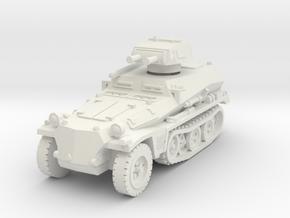 Sdkfz 253 with Pz I Turret 1/100 in White Natural Versatile Plastic