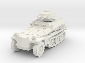 Sdkfz 253 with Pz I Turret 1/87 in White Natural Versatile Plastic