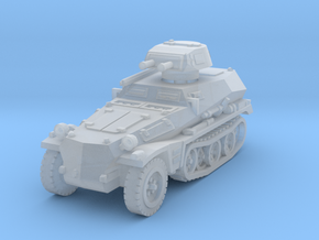 Sdkfz 253 with Pz I Turret 1/285 in Smooth Fine Detail Plastic