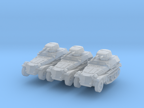 Sdkfz 253 with Pz I Turret (x3) 1/200 in Smooth Fine Detail Plastic